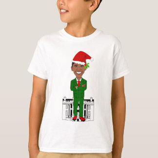 Camiseta Barack Obama Papai Noel