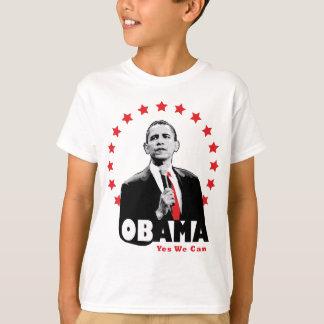 Camiseta Barack Obama - sim nós podemos