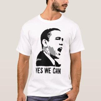 Camiseta Barack Obama, sim nós podemos