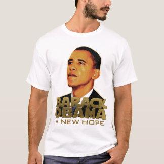 Camiseta Barack Obama: Uma esperança nova