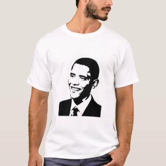 """Camiseta Barack """"que nós podemos mudar """""""