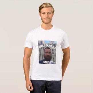 Camiseta Barba de justiça