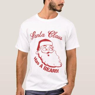 Camiseta BARBA de Papai Noel! Personalize-a! Feliz Natal!