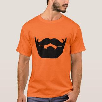 Camiseta Barba e bigode