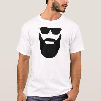 Camiseta Barba e óculos de sol