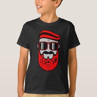 Camiseta barba vermelha