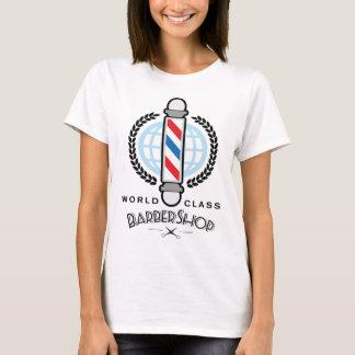 Camiseta Barbearia da classe do mundo