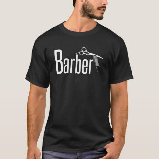 Camiseta Barbeiro no texto do divertimento
