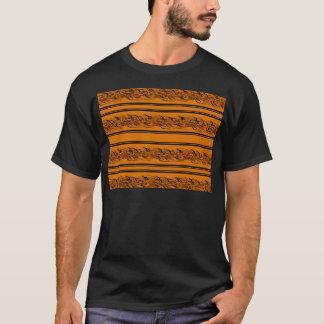 Camiseta Barbwire alaranjado