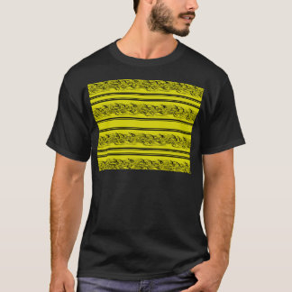 Camiseta Barbwire amarelo