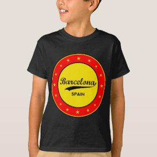 Camiseta Barcelona, Spain, circle