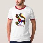 """Camiseta Barcelos """"galo"""" jogador de futebol de Portugal"""