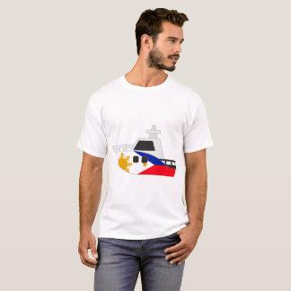 Camiseta Barco de bandeira de Filipinas