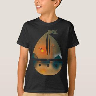 Camiseta Barco de Sunset_sail