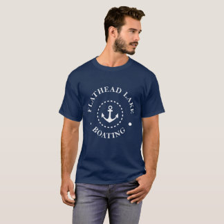 Camiseta Barco Flathead do lago