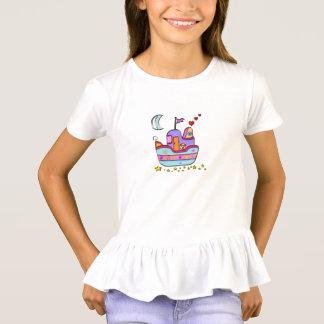 Camiseta barco na noite