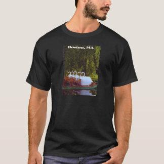 Camiseta Barcos da cisne de Boston - verão