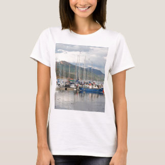 Camiseta Barcos em Kyleakin, ilha de Skye, Scotland
