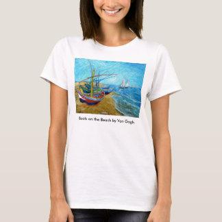 Camiseta Barcos na praia