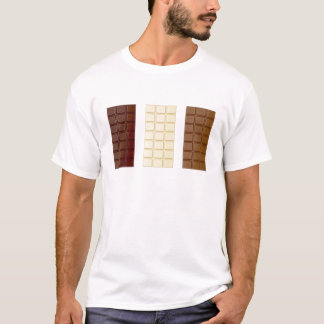 Camiseta Bares de chocolate