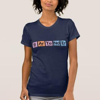 Camiseta Barman feito dos elementos