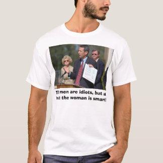 Camiseta Barnwell, os homens é idiota, mas pelo menos…