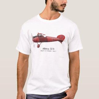 Camiseta Baron vermelho aka Manfred von Richthofen e seu