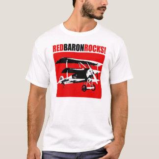 Camiseta Baron vermelho Rocha