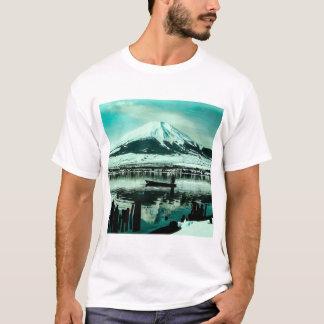 Camiseta Barqueiro solitário abaixo da sombra do inverno de