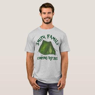 Camiseta Barraca personalizada da viagem de acampamento das