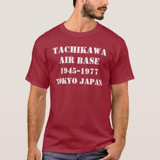 Camiseta base aérea Japão 1945-1977 de tachikawa