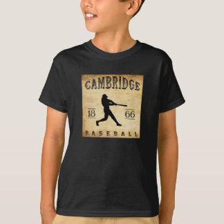 Camiseta Basebol 1866 de Cambridge Massachusetts