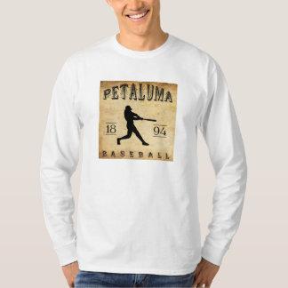 Camiseta Basebol 1894 de Petaluma Califórnia