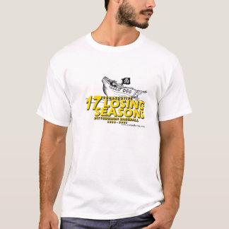 Camiseta basebol de pittsburgh 17 estações perdedoras