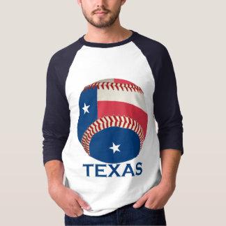 Camiseta Basebol de Texas