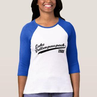 Camiseta Basebol de Wallenpauapack do lago 3/4 de luva