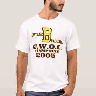 Camiseta Basebol do Vandalia-Mordomo 10 títulos