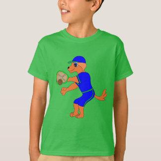 Camiseta Basebol feliz pelos Feliz Juul Empresa