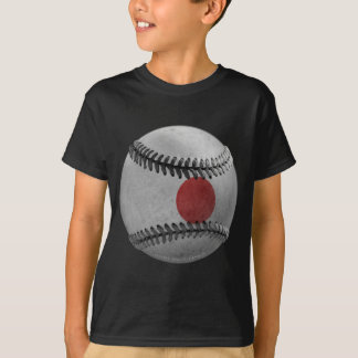 Camiseta Basebol japonês