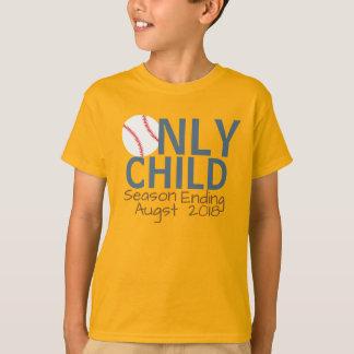 Camiseta Basebol personalizado do término da estação do