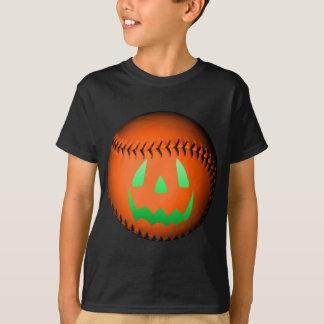 Camiseta Basebol verde da lanterna de Jack O do fulgor