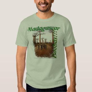 Camiseta Básica Baobás de Madagascar