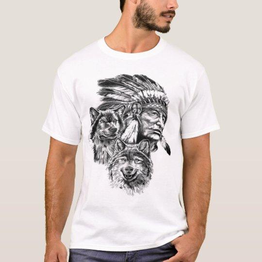 Camiseta Básica, Branco, Designer Indio e Animais