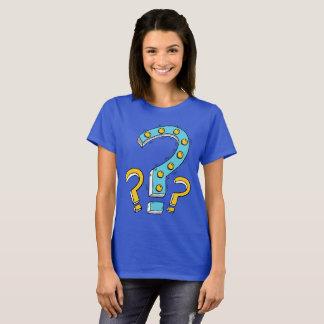 Camiseta Básica Feminina Interrogação