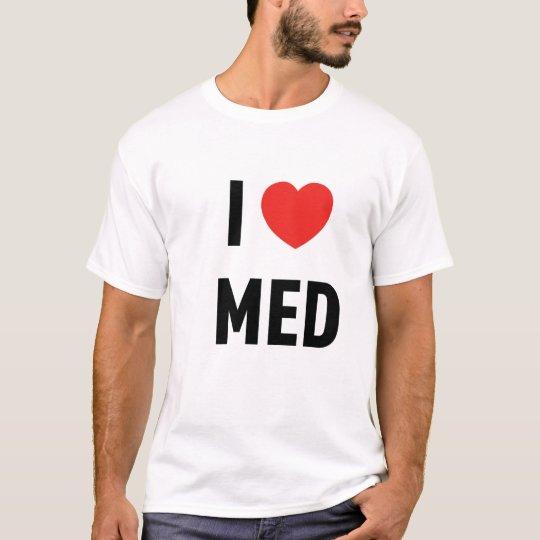Camiseta Básica I Love Med