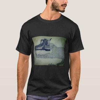 Camiseta básica masculina escura