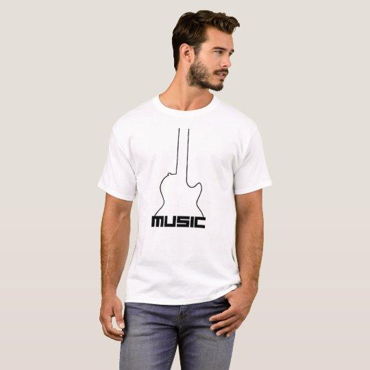 Camiseta básica - MUSIC
