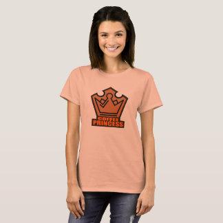 Princess Coffee Women's Basic T-Shirt