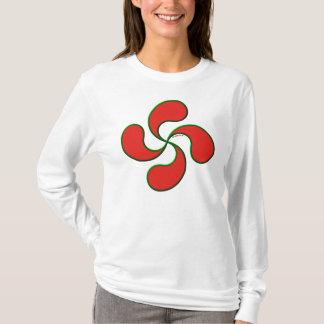 Camiseta basque do croix