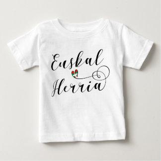 Camiseta Basque Euskal Herria do coração do país